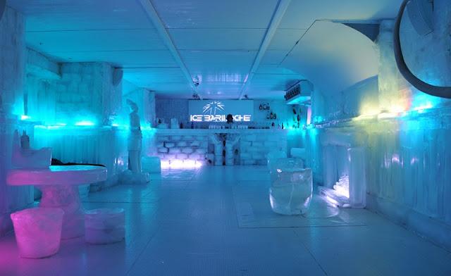 Ice Bar em Bariloche na Argentina
