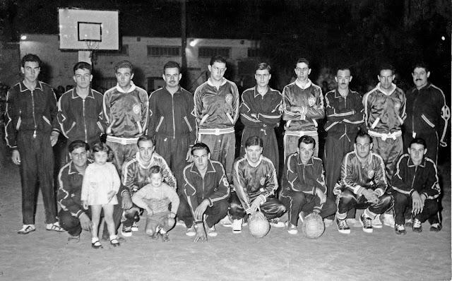 Equipos de Alba Argentina y Welcome.2da division basquet