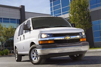 2015 Chevy Express Front View Model