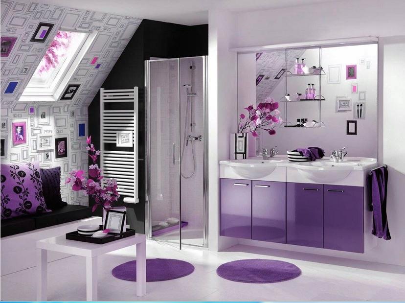 58 Koleksi Gambar Rumah Sederhana Warna Ungu HD Terbaik