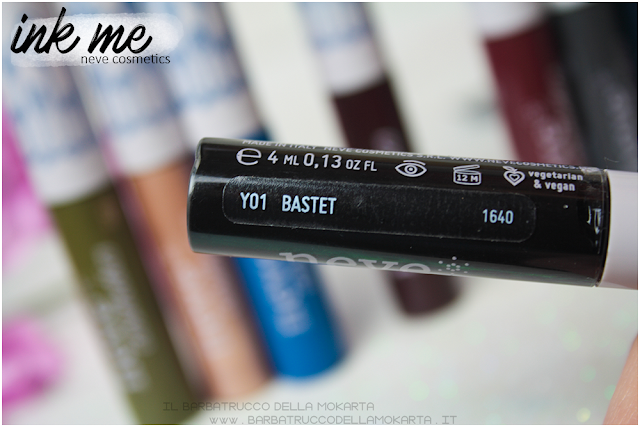 BASTET INKME EYELINER NEVE COSMETICS REVIEW RECENSIONE