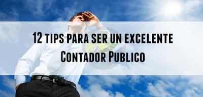 12 tips para ser un excelente Contador Público