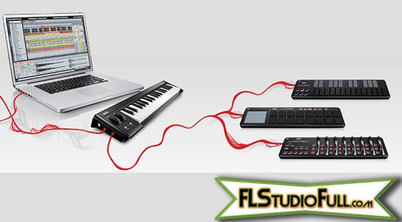Teclado Korg microKEY 37 - Controlador MIDI - Outros Controladores conectados na USB