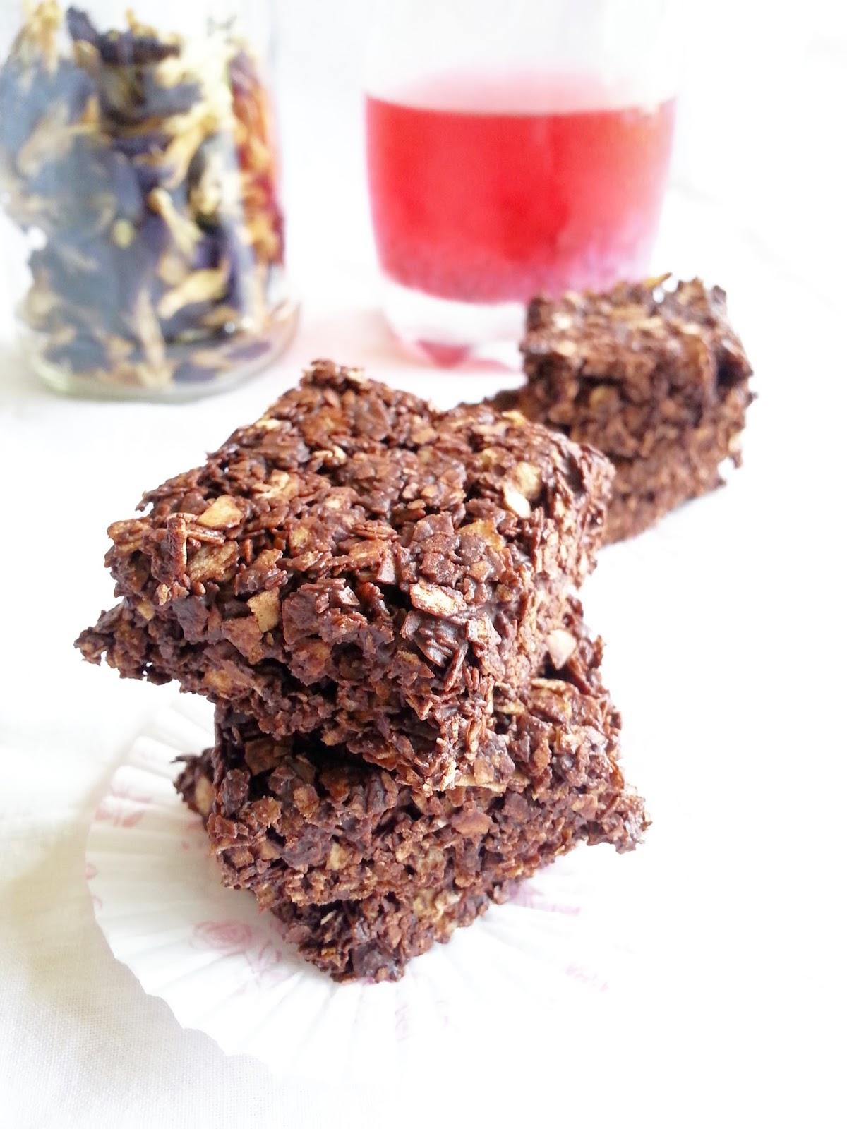 Resepi Nestum Coklat Bar Hanya 2 Bahan Mudah Dan Sedap