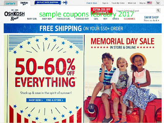 OshKosh B'gosh coupons february