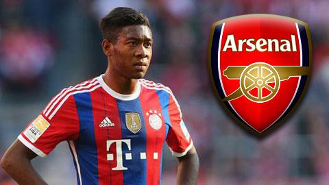 Kênh the thao 24h Bein Sports tiết lộ HLV Arsene Wenger rất hâm mộ cầu thủ  đa năng David Alaba của Bayern Munich và có kế hoạch mang anh về sân  Emirates ...