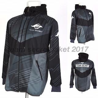 Jacket Gaming - Jaket Team Secret 2017