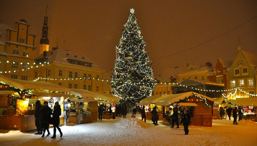 Estonia Paradise Of The North Latvia Claims Original Christmas