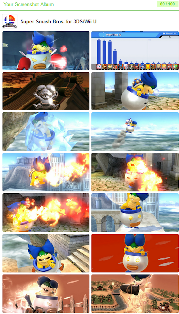 Ludwig Von Koopa screenshot album Super Smash Bros. For Wii U