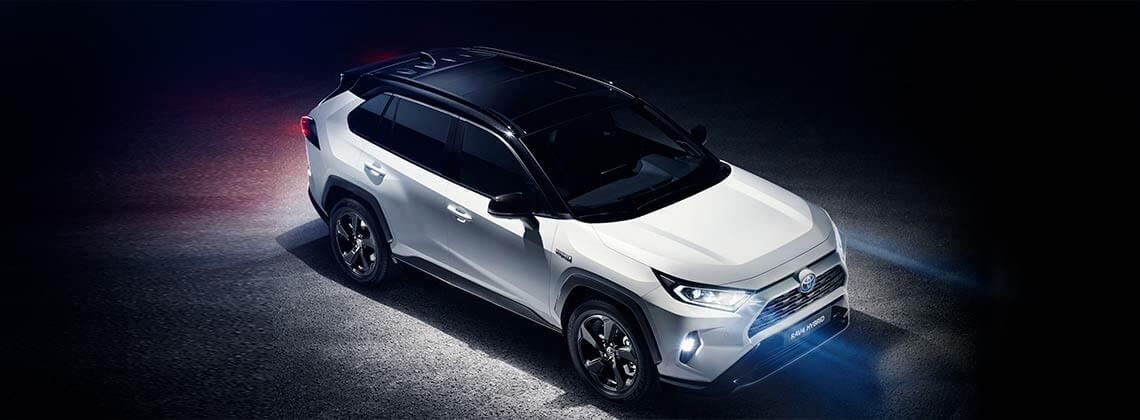 The All New Toyota RAV4 2019 Hybrid