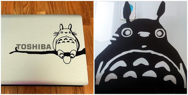 Totoro en positivo y negativo
