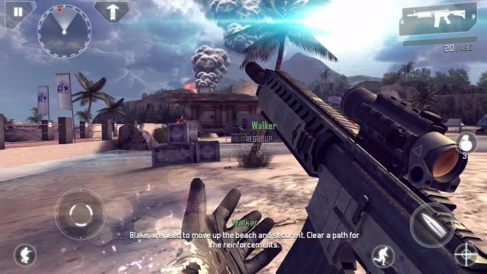 gambar game modern combat 4 zero hour Game Android Perang Yang Memacu Adrenaline