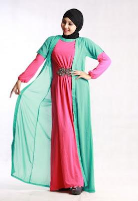 Model Baju Muslim Untuk Orang Gemuk Gamis