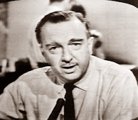 Walter Cronkite reporting the assassination of JFK