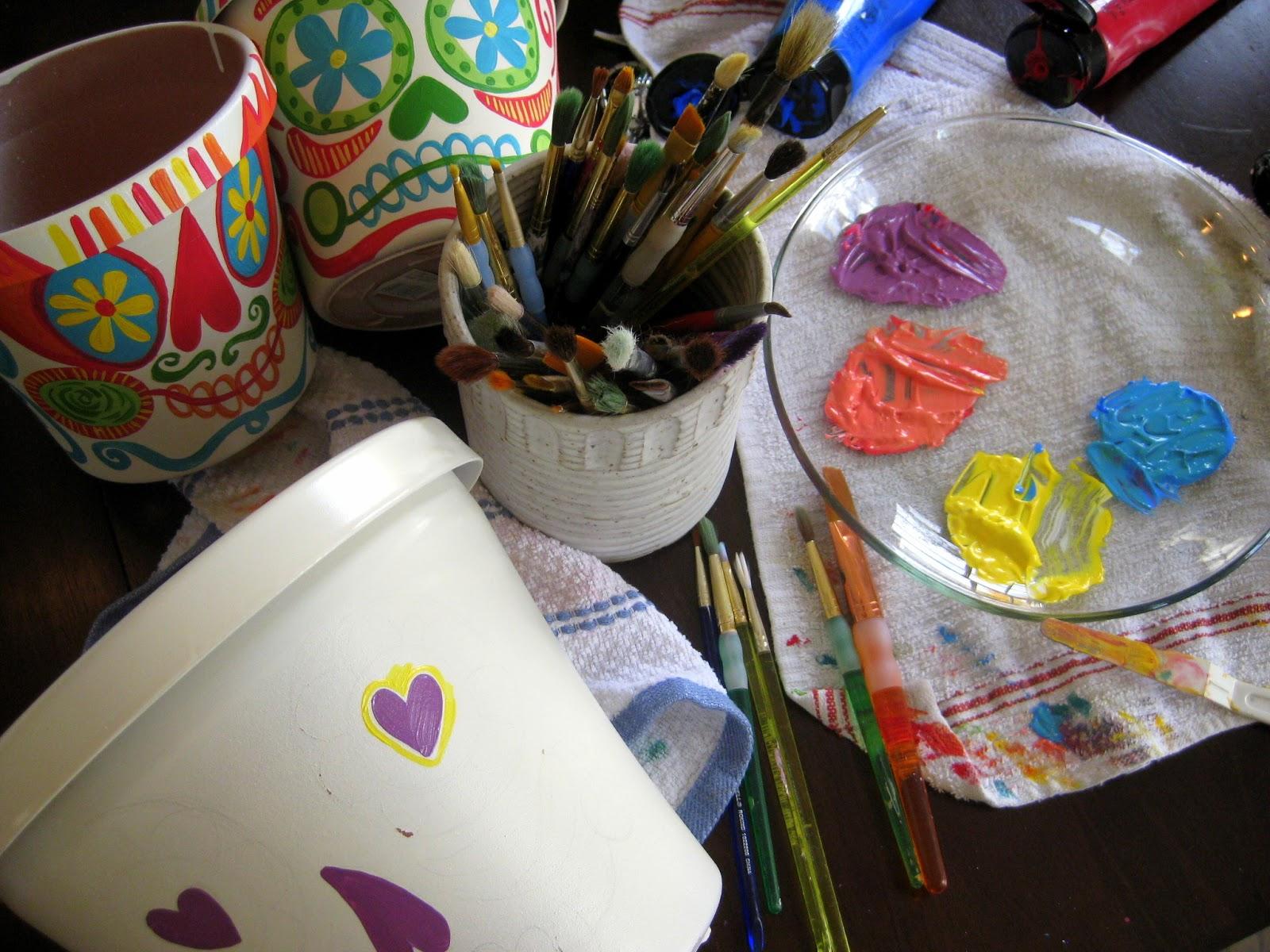 El Dia De Los Muertos Spray Paint