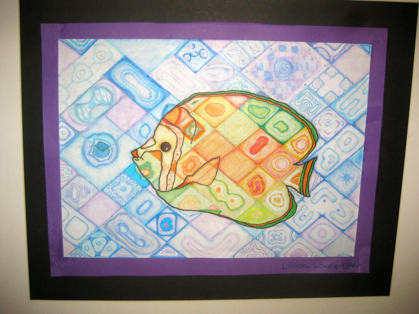 Mrs Art Teacher Chuck Close Inspired