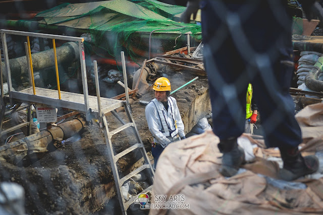 Construction guy in Japan