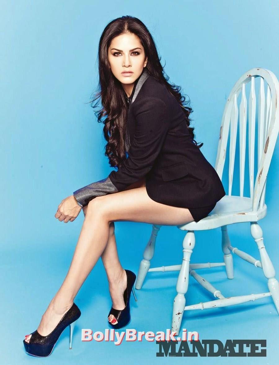 Sunny Leone Mandate Magazine Hot Scans - Formal Clothes -4245