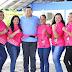 Veteranas do jiu-jitsu realizam evento de conscientização ao 'Outubro Rosa'