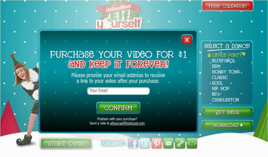 nick burcher: Elf Yourself 2013 at elfyourself com