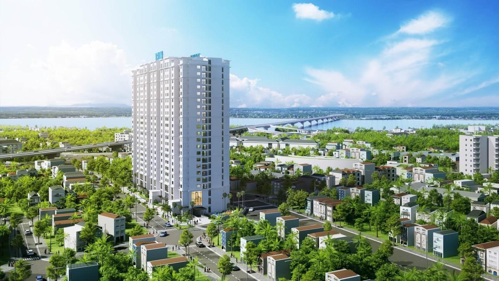Phối cảnh chung cư 622 Minh Khai