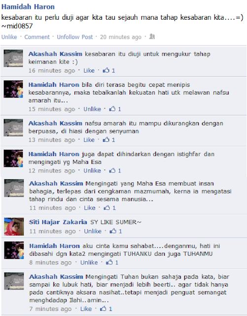 Madah Akasha vs Hamidah