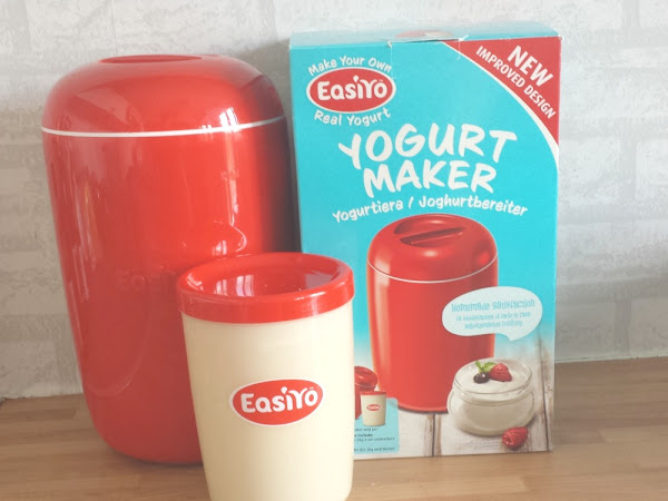 Make Your Own Yogurts With EasiYo {Review}