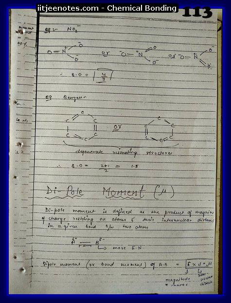 Chemical-Bonding Notes class 11-17