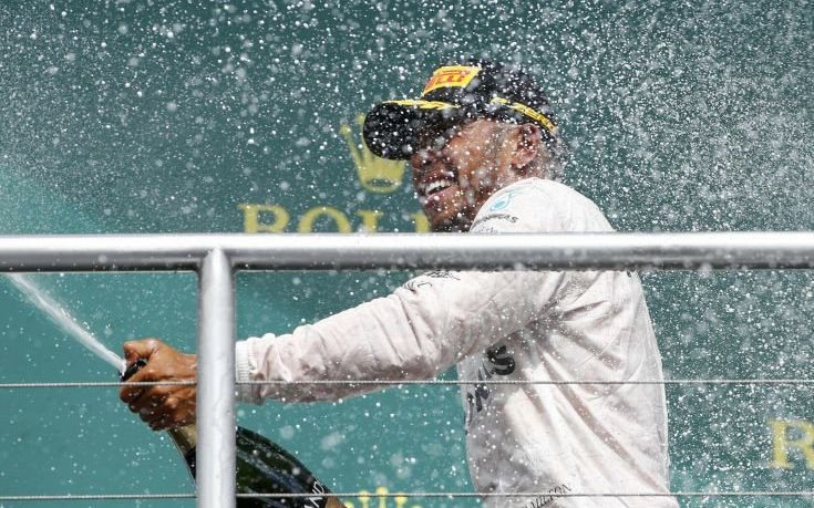 Χόκενχαϊμ: Τέταρτη σερί νίκη για το Λιούις Χάμιλτον στη Formula 1