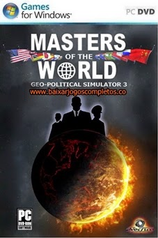 Masters of The World Geopolitical Simulator 3 - PC (Completo)