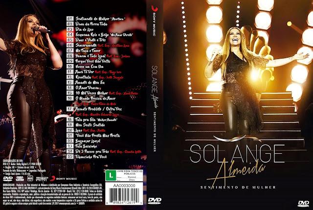 Capa DVD Solange Almeida Sentimento de Mulher