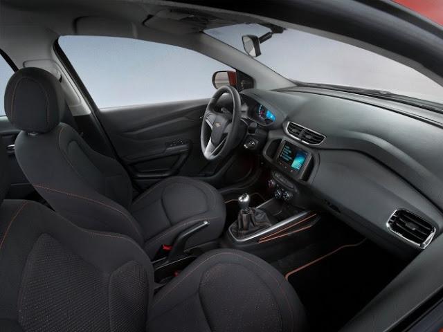 2013 Chevrolet Onix Dashboard