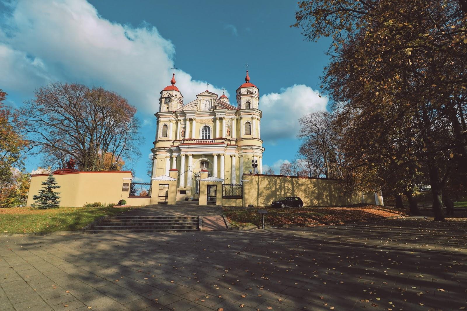 wilno, litwa, wileńskie kościoły