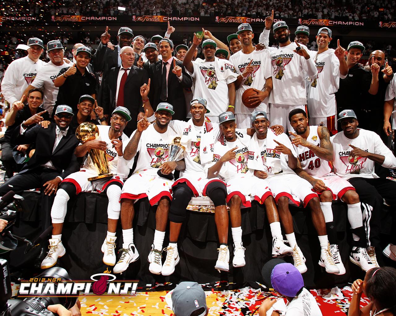 Nba Basketball Miami Heat Bedroom In: Heat Champions