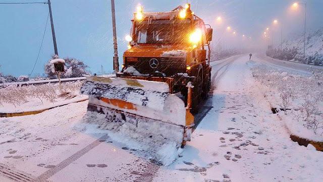 """Ο """"Τηλέμαχος"""" φέρνει χιόνια από το απόγευμα και στην Αργολίδα - Πρόγνωση από Αρναούτογλου - Καλλιάνο"""