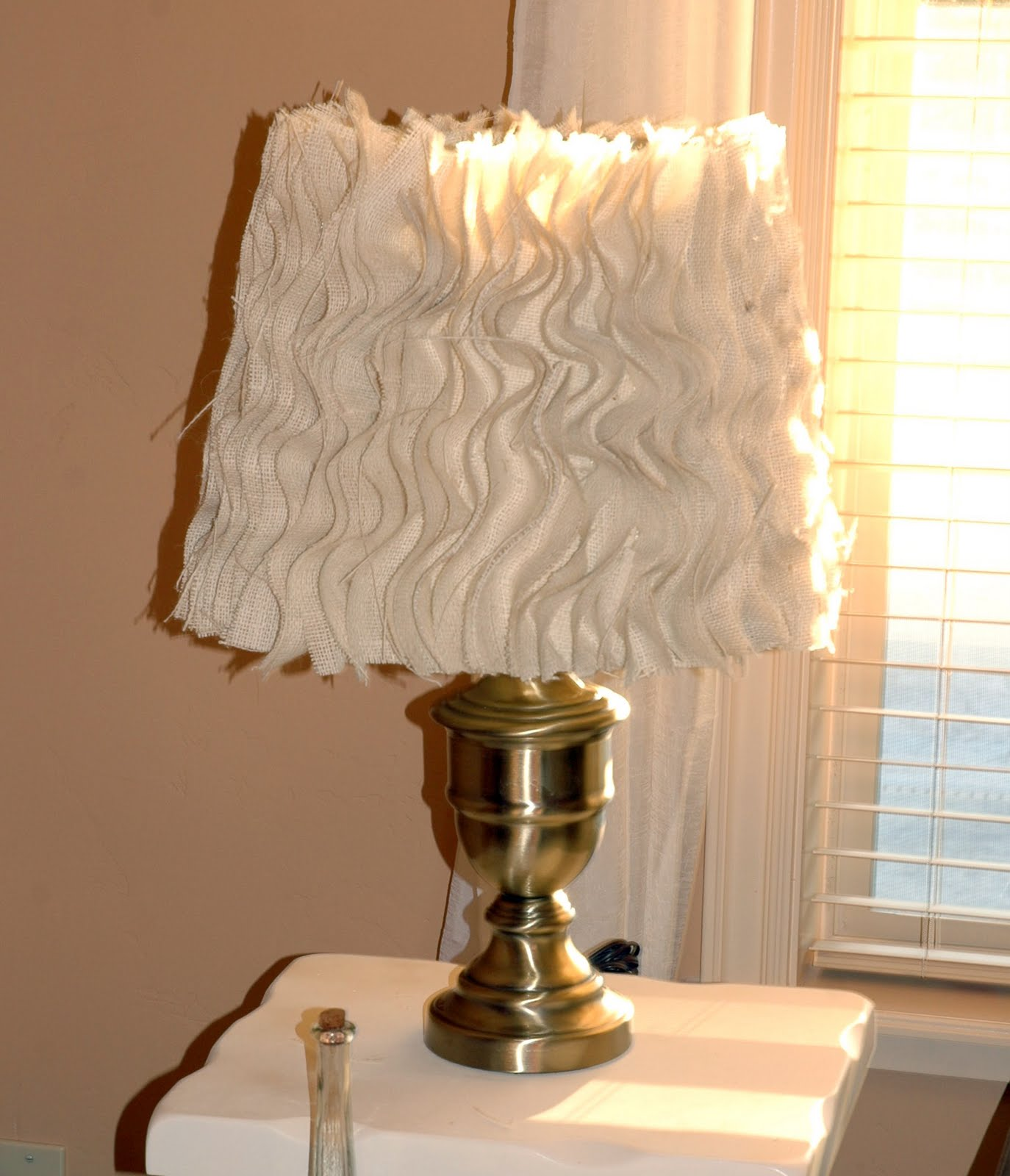 Anthropologie Lamps: The Turquoise Piano: Anthropologie Inspired Lamp Tutorial