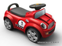 Pliko 539 Mini Cooper Ride-on Car