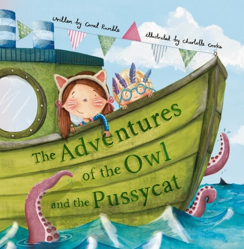 , The Adventures of the Owl and the Pussycat #ParragonBookBuddies