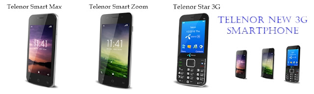 Telenor New 3G Smartphones