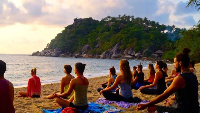 Yoga Place in Koh Phangan