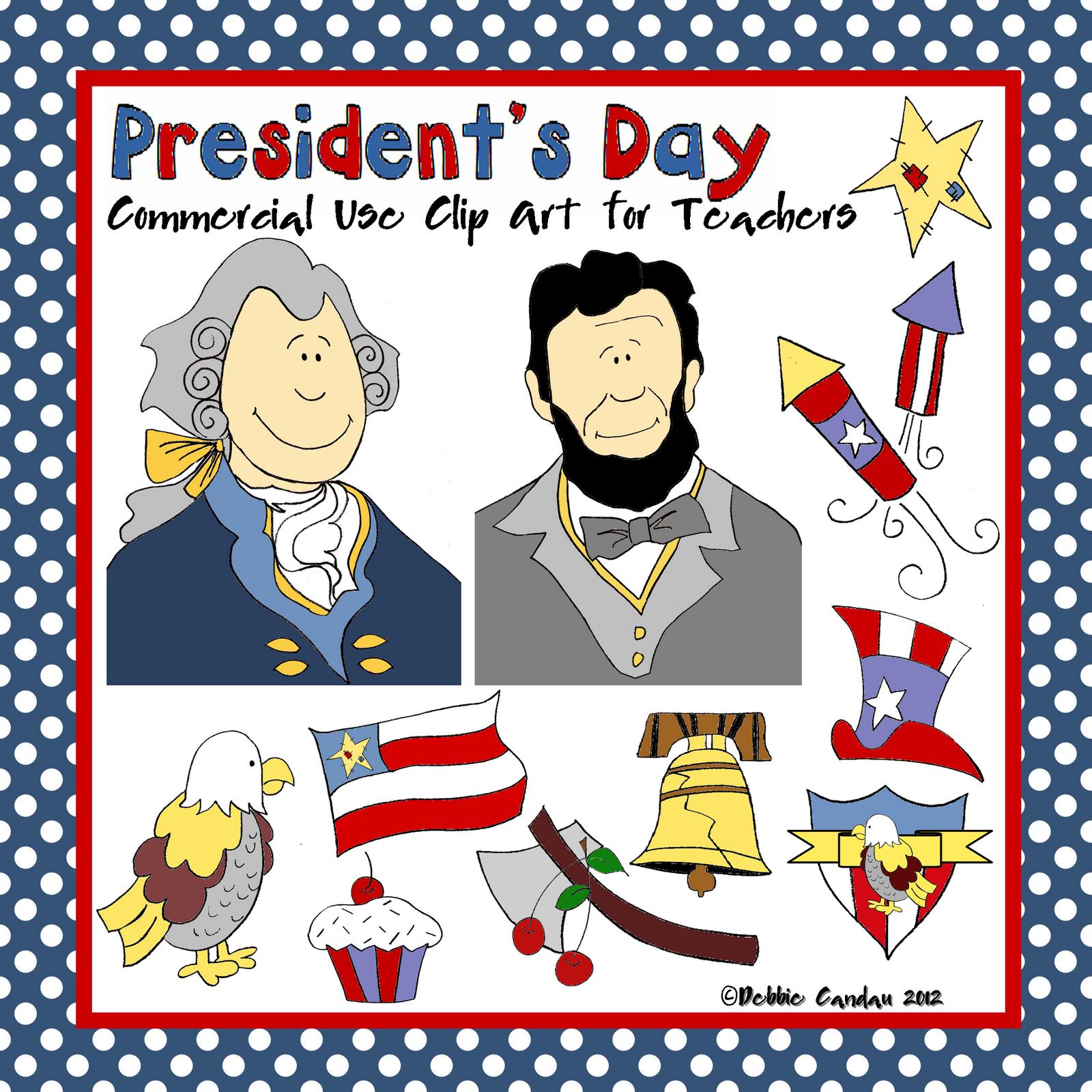 The Alphabet Garden: Free President's Day Poem! |Presidents Day Clip Art