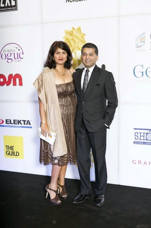 Ritu and Anoop Bhargava, Masala! Awards 2014 Photo Gallery