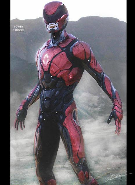 MMPR The Movie 2017 - Ranger Suit Concept Art Unveiled ...