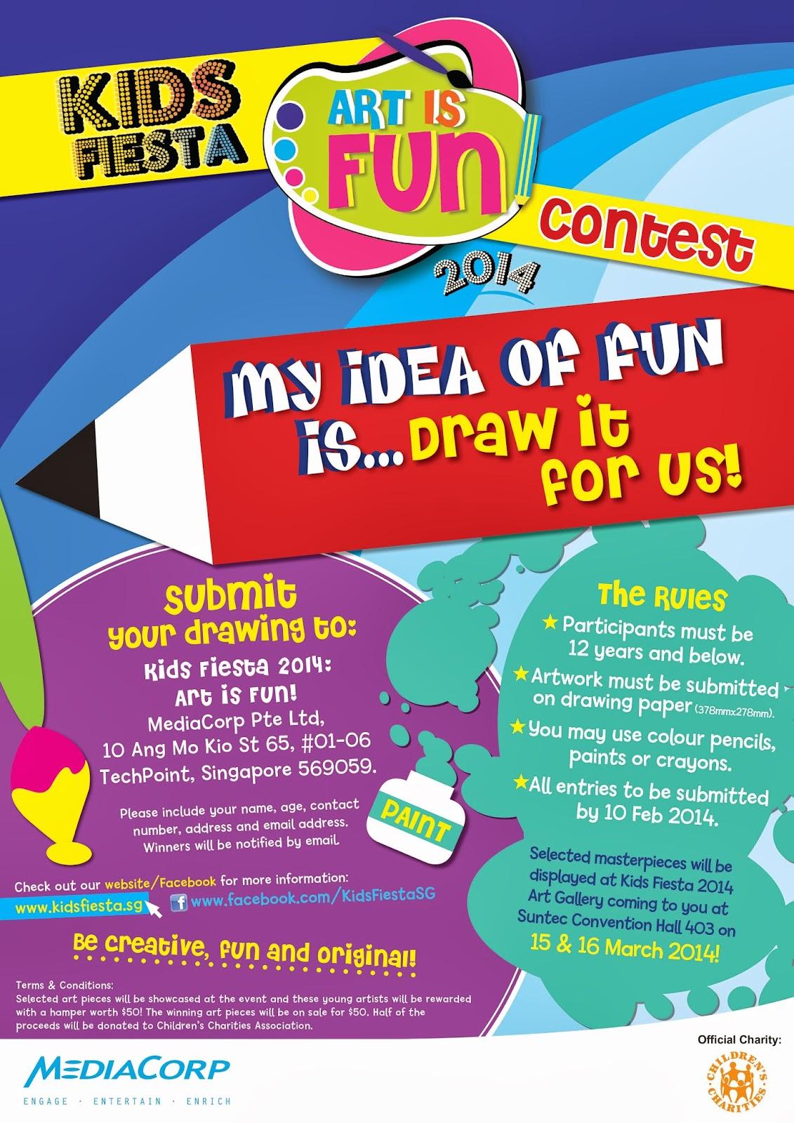 Kids Fiesta 2014 & Art is FUN Contest   Welcome to Super ...