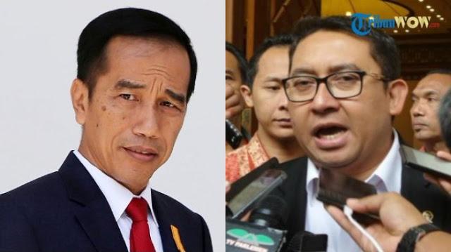 Komentari Video Ucapan Jokowi, Fadli Zon: Contoh Asbun dan Hoax