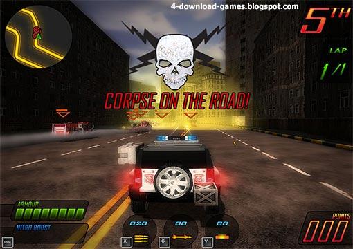 لعبة الاكشن وسباق السيارات Apocalypse Motor Racers