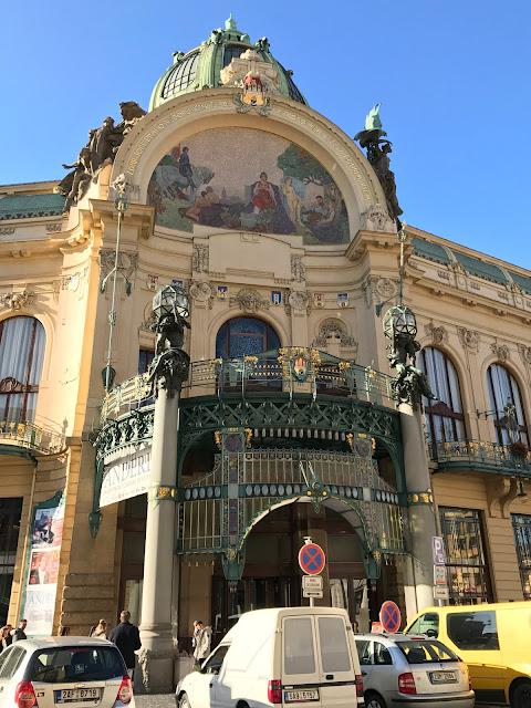 Maison municipale Prague
