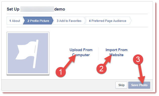 How to create new facebook page