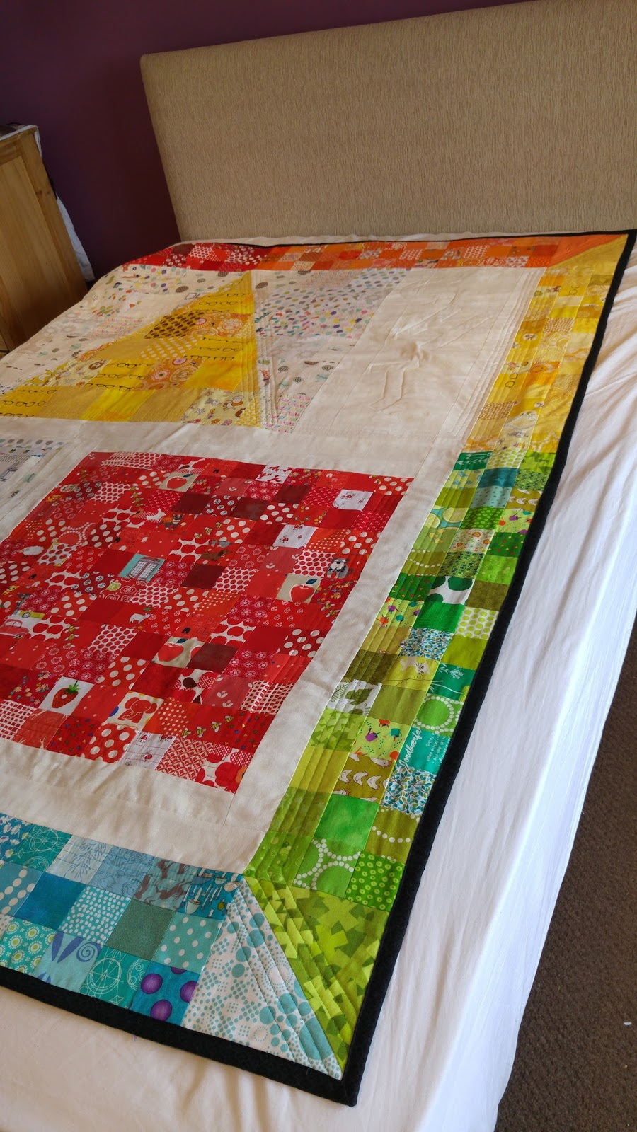 Stitch and pieces for Space shuttle quilt