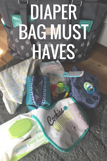 Mommy Monday: Diaper Bag Must Haves